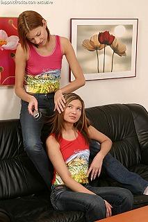 Teenage Threesome pic #1
